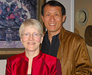 Photo of Diane and Gene Liu. Link to their story