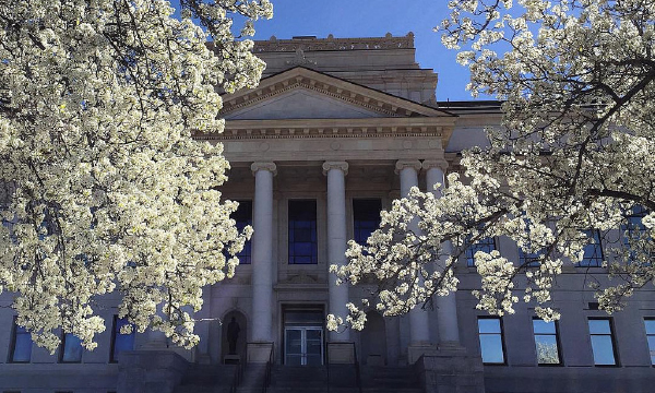 Photo of a building on the University of Utah campus