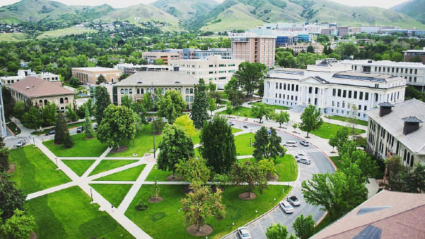 Photo of the University of Utah campus