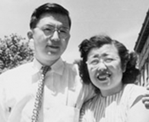 Photo of Dr. Walter Wada and his wife Helen. Link to their story
